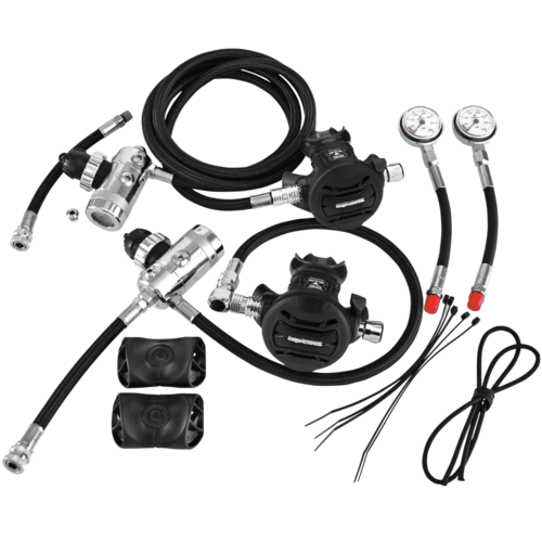 Apeks - Sidemount Regulator Set