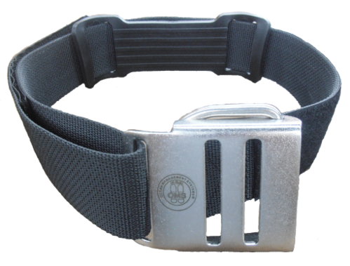 OMS - tank strap with stainless steel buckle